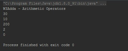 Kotlin Arithmetic Operators