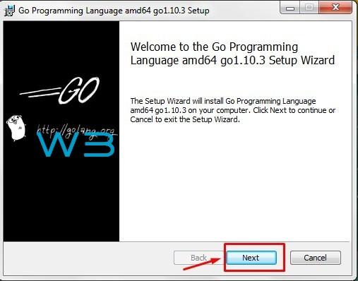 Go Language Installation 1