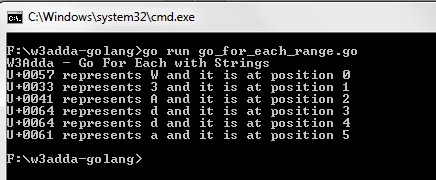 go_for_each_with_strings