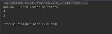 Kotlin Index Access Operator