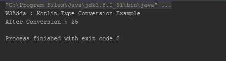 Kotlin Type Conversion