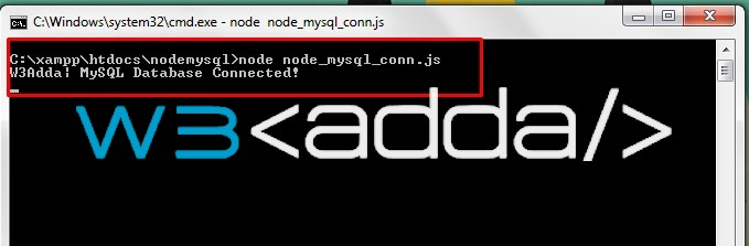 Node.js MySQL Connection 5