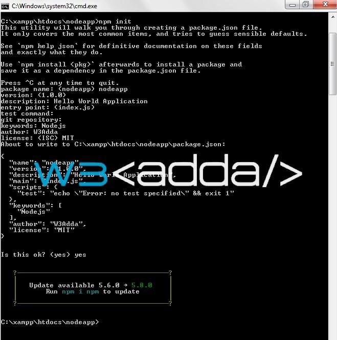 Nodejs Hello World Application 1