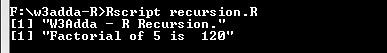 r_recursion