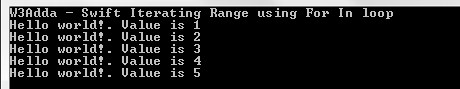 swift_iterating_range_using_for_in_loop