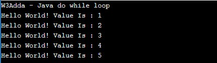 java_do_while_loop_example