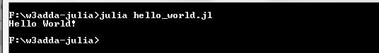 julia-hello-world-script