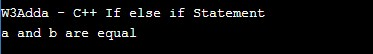 cpp_if_else_if_statement