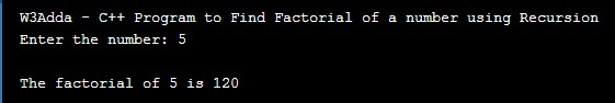 cpp_program_to_find_factorial_of_given_number_using_recursion