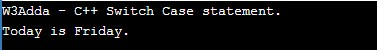 cpp_switch_case_statement