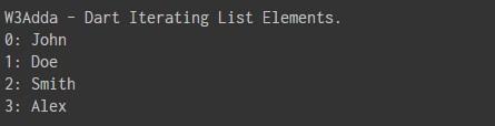 dart_iterating_list_elements