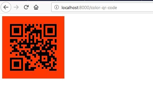 laravel-5-8-generate-color-qr-code