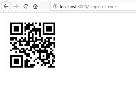 laravel-5-8-generate-simple-qr-code