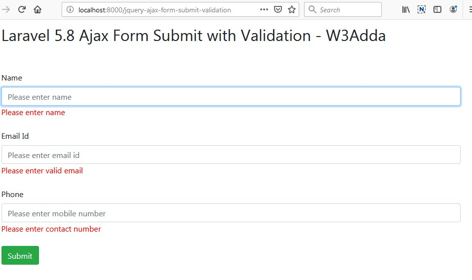 laravel-5-8-jquery-ajax-form-submit-with-validation-2